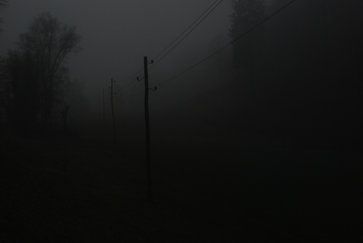In the end of the day it was REALLY foggy!
